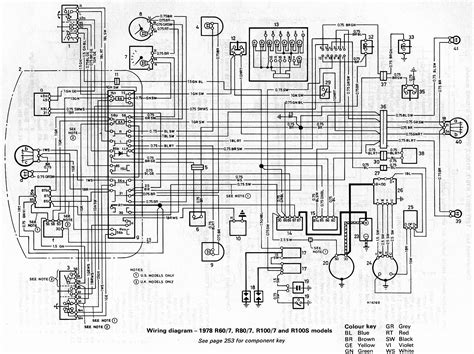 bmw 1984 r80 7 wiring diagram chassis wire harness bmw r airhead r60 r75 r80 r100 61 11 1