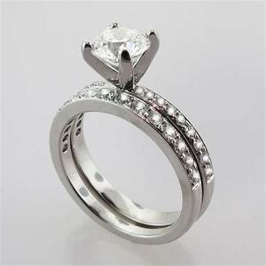 stunning wedding set rings unique engagement ring With matching wedding ring sets