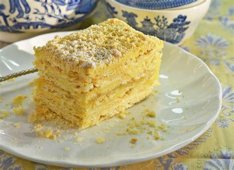 Skip to recipe print share. Napoleon Cake Recipe | RecipeStudio