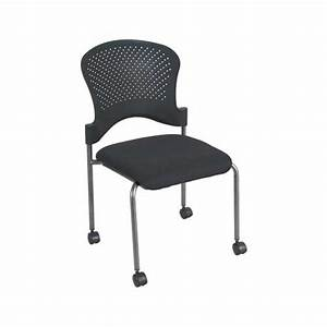Premiera Arc Stackable Guest Chairs With Casters 2794C