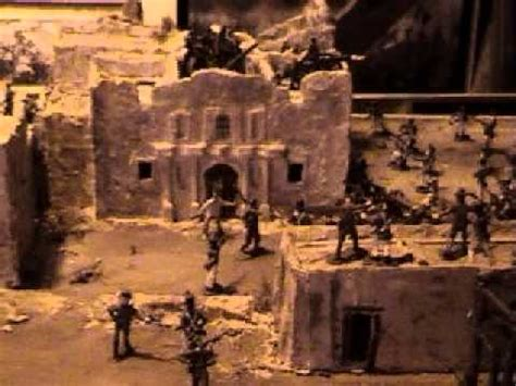 alamo diorama  pre dawn moment  history youtube