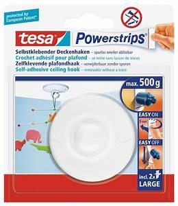 Tesa Powerstrips Tapete : tesa powerstrips deckenhaken drehbarer haken aus hochwertigem kunststoff zum kleben bis 0 ~ Eleganceandgraceweddings.com Haus und Dekorationen