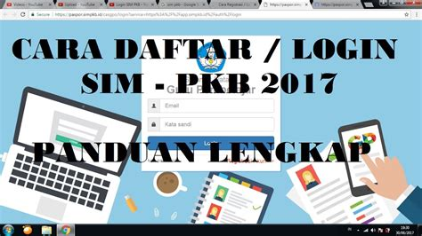 login sim pkb  youtube