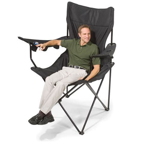 Kingpin Folding Chair Canada by The Brobdingnagian Sports Chair Hammacher Schlemmer
