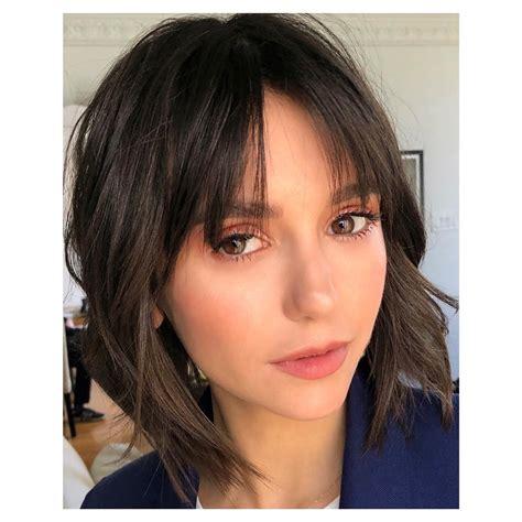 hair styles for silver hair dobrev new haircut bangs haircuts models ideas 4163