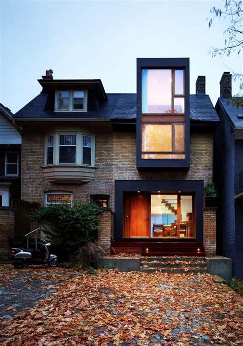 semi detached family house   beach  drew mandel architects toronto canada