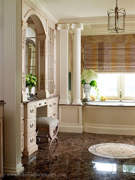 French Country Master Bath  Eclectic  Bathroom Boston