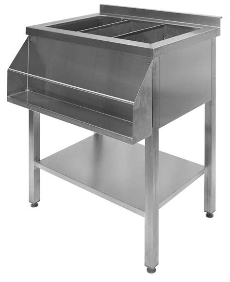 rostfritt bord affordable fld rostfritt stl vrmebord