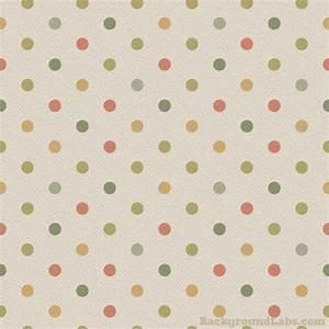 Vintage Polka Dot - Background Labs