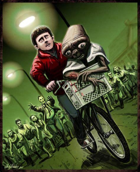 zombie zombies radiation deviantart horde et elliott running mash hunter away scooby doo eat week alien elliot memes andy 1950s