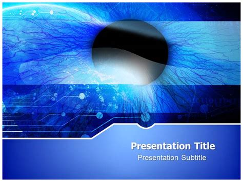 ophthalmology pptpowerpoint templates  template