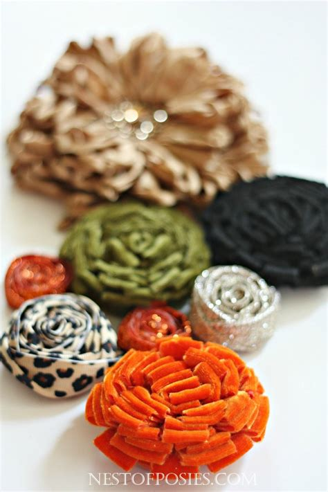 how to make posies how to make a posie and rosette cluster
