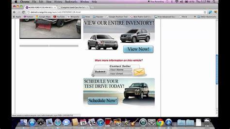 craigslist detroit cars  trucks  vehicles