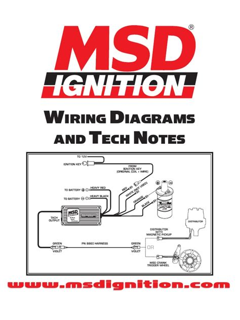 Msd Wiring Diagram by Msd Ignition Wiring Diagrams And Tech Notes