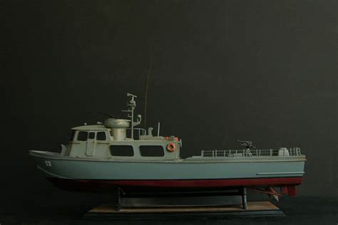Swift Boat Interior by Patrol Craft Fast Swift Boat Model