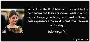 Even in India t... Bombay Film Quotes
