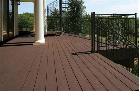 grain composite decking weekes forest products