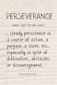Perseverance Definition