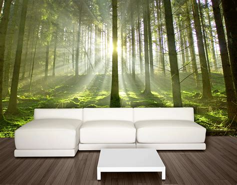 Wall Mural : Spring Trees Wall Mural