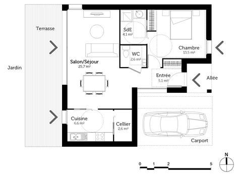 chambre suite parentale plan maison pmr 60 m ooreka