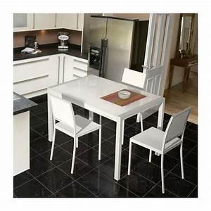 Table En Verre Extensible Concept 4 Pieds Tables