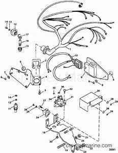Wiring Harness  Electrical Mounted On Exhaust Elbow Tb Iv
