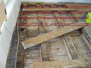 Plancher Bois Etage : changer plancher remettre les solives niveau ~ Premium-room.com Idées de Décoration