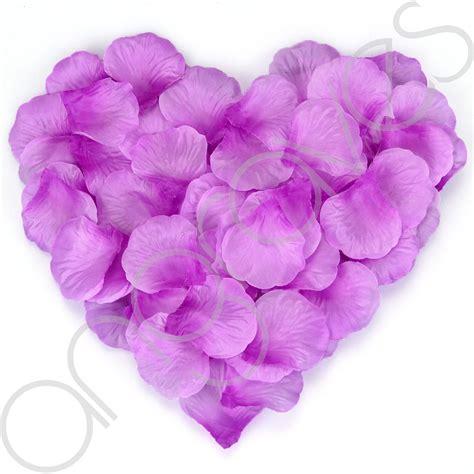 silk rose petal flower confetti engagement