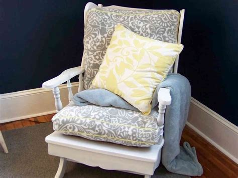 rocking chair cushion sets  nursery decor ideas