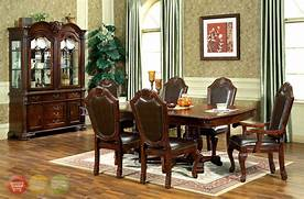 Antique Tuscan Formal Dining Room Pin Formal Dining Room Sets Counter Height Tables On Pinterest