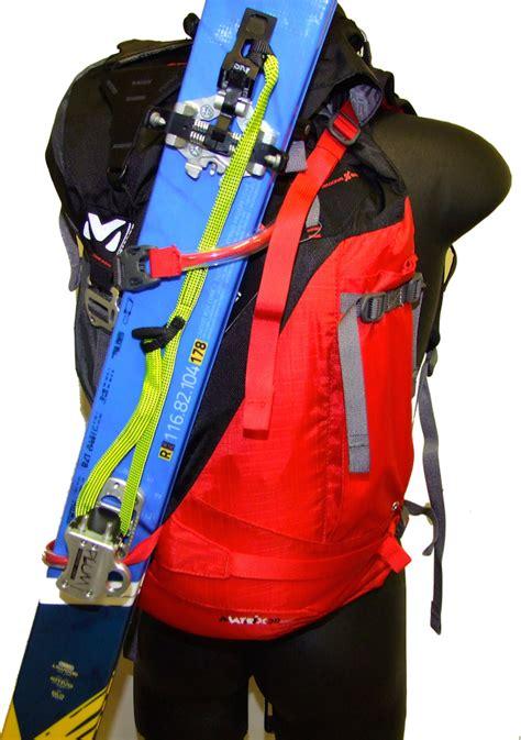 comment bien porter ses skis de rando sur un sac 224 dos
