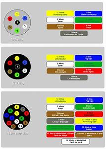 13 Pin Trailer Socket Wiring Diagram Uk    Wiring Diagram
