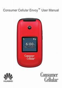 Consumer Cellular Envoy User Manual