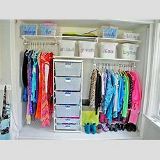 10 Ways To Organize Your Kid's Closet Hgtv