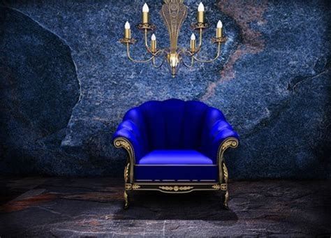 blue chair  abstract background wallpapers
