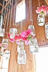 Blumendeko Im Glas : h ngende blumendeko f r die hochzeit ~ Frokenaadalensverden.com Haus und Dekorationen