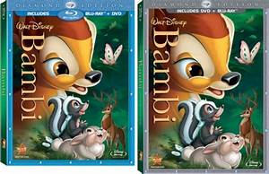 Blu Ray Review Bambi Diamond Edition