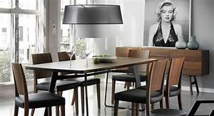 8 best salle a manger dining room images on pinterest for Salle À manger contemporaineavec chaise cuir noir salle manger