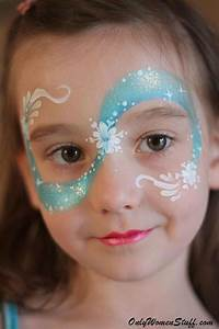 40, Easy, Kids, Face, Painting, Ideas, Designs, For, Little, Girls