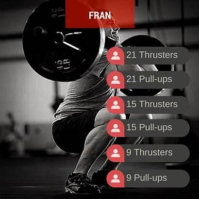 Crossfit Workouts Fran Popular Workout Wod Beginners
