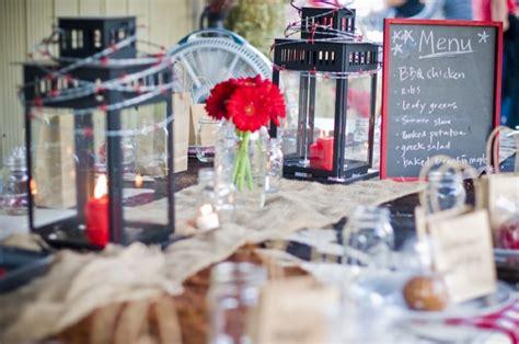 bbq table decorations wedding table ideas romantic decoration
