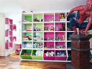 Rangement Chambre Enfants : meuble de rangement chambre enfant 20 id es originales ~ Melissatoandfro.com Idées de Décoration
