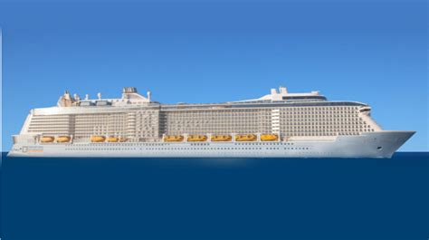 Biggest Passenger Ships In The World by Large Cruise Ships Launching In 2018 Including The World