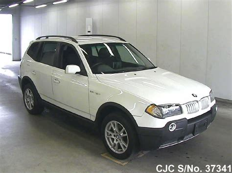 2004 Bmw X3 White For Sale