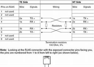 How To Connect  Wire  B100p To The Isdn Line