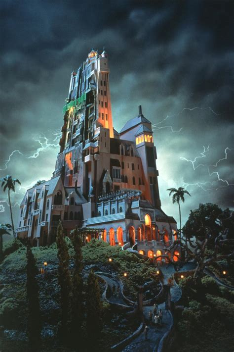 twilight zone tower  terror disneys hollywood