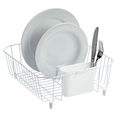 dish rack that fits in sink twin sink dish drainer the container store