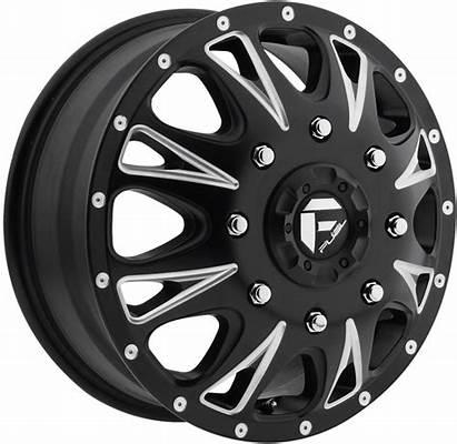 Dually Fuel Wheels Throttle D513 Tires Piece