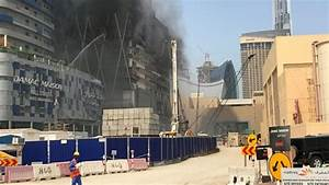 Fire breaks out at under-construction Dubai skyscraper ...