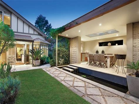 stunning images outdoor living home plans indoor outdoor outdoor living design with fish pond